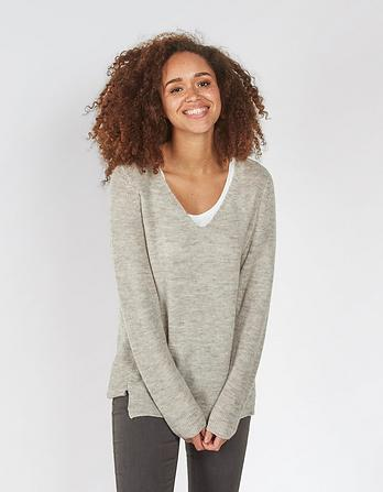 Camilla V-Neck Jumper