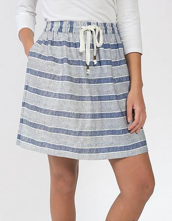 Clara Stripe Skirt