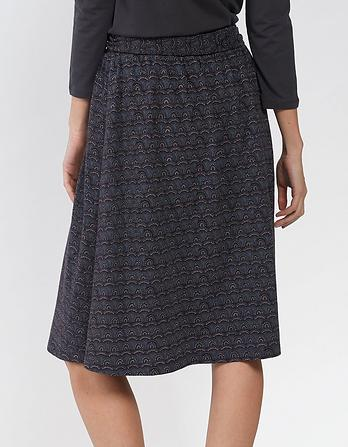 Mina Geo Wave Skirt