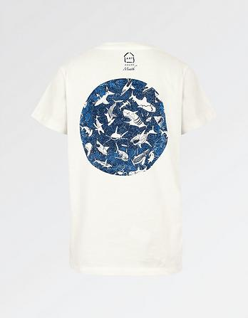 ARTHOUSE Meath Circle Shark T-Shirt