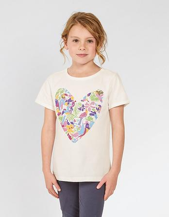 ARTHOUSE Meath Paradise Heart T-Shirt