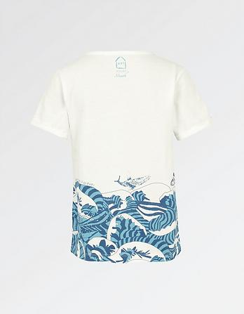 ARTHOUSE Meath Whale T-Shirt