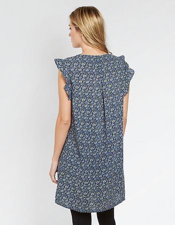 Nicola Jacquard Floral Dress