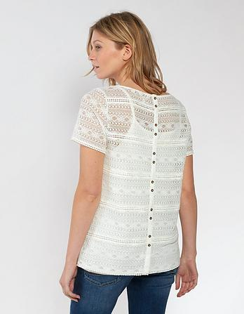 Vivienne Lace 2 In 1 Top