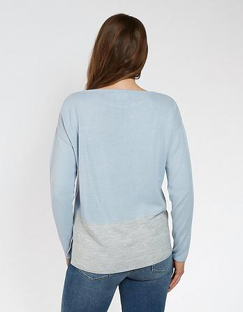 Isabel Colour Block Jumper