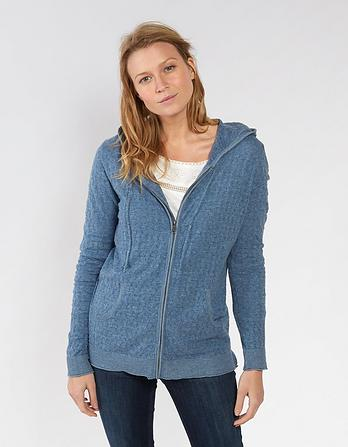 Organic Cotton Bethtextured Hoody