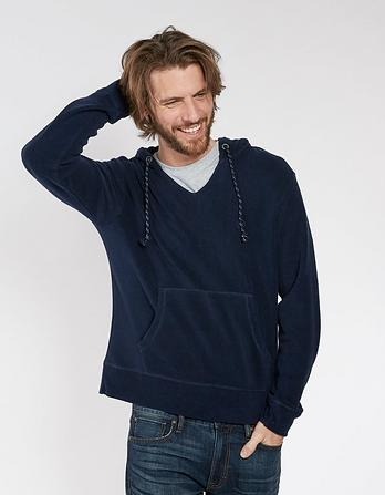 Towelling Plain Hoody