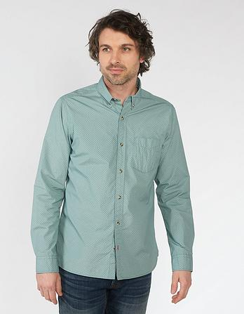 Lundy Geo Print Shirt