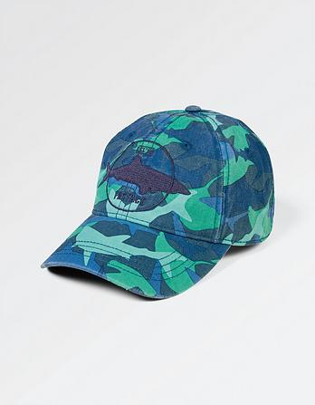 Shark Camo Badge Cap