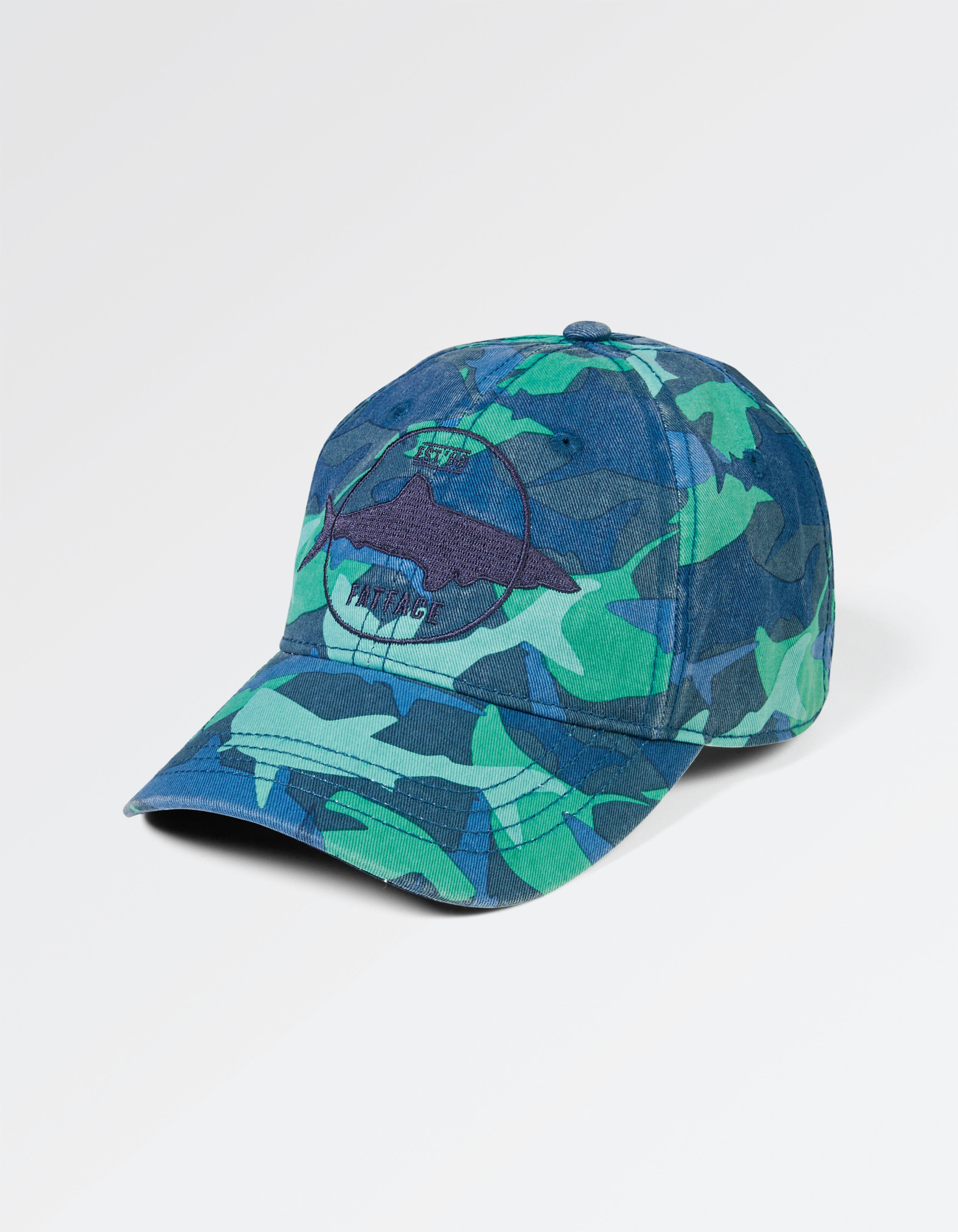 Shark Camo Badge Cap