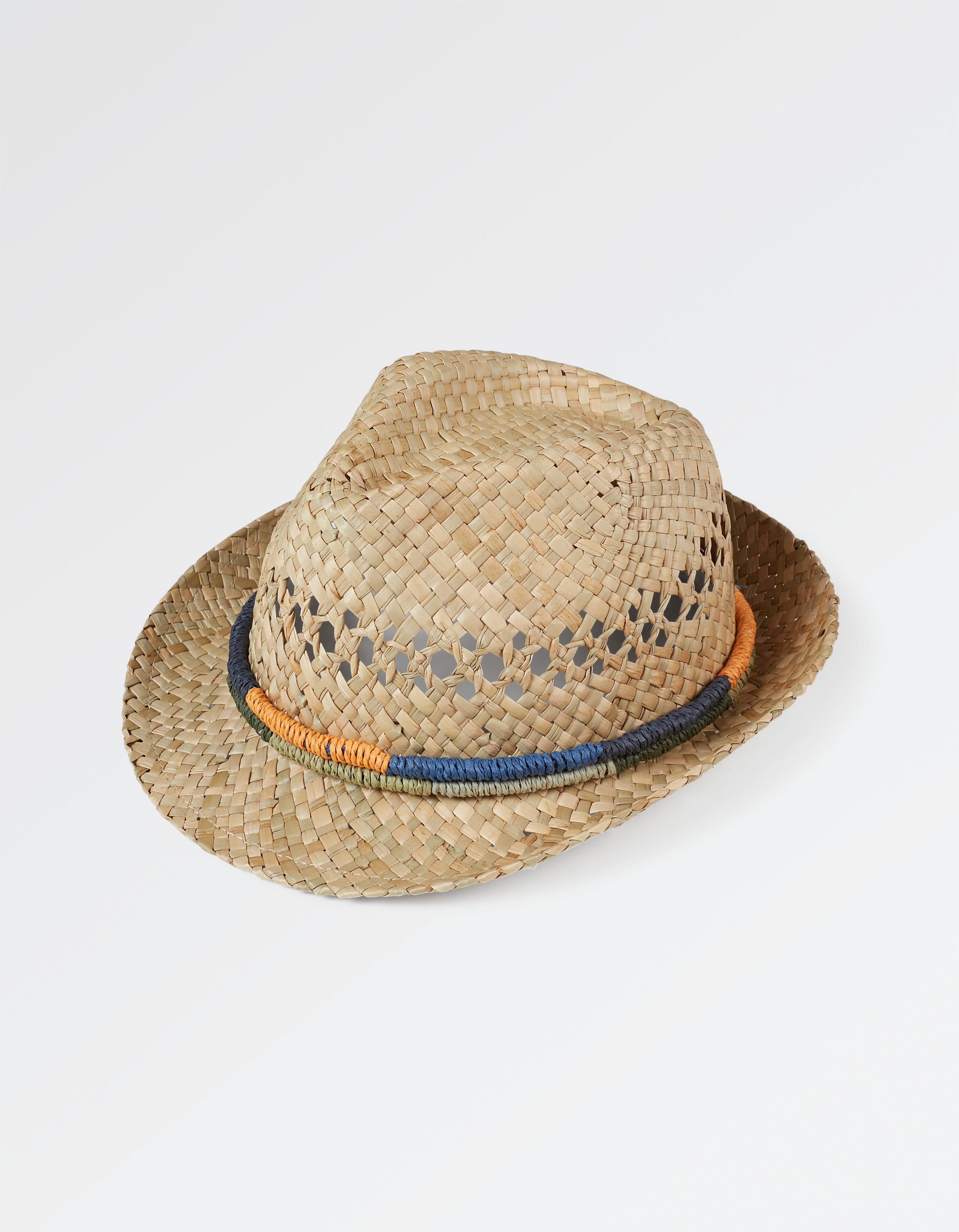 Woven Band Trilby