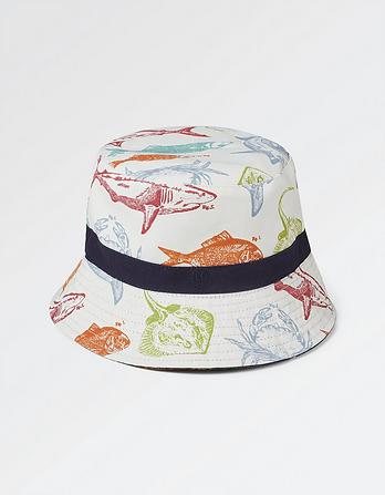 Deep Sea Print Bucket Hat