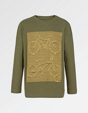 Linear Bicycle T-Shirt