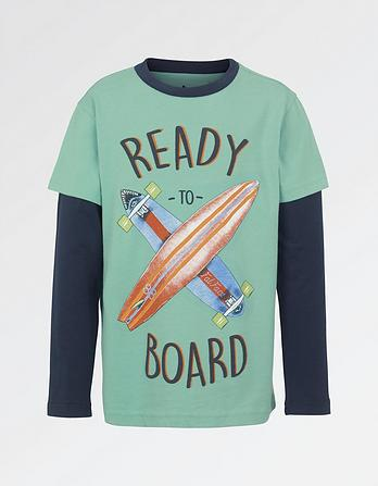 Ready To Board T-Shirt
