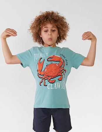 Crab Graphic T Shirt