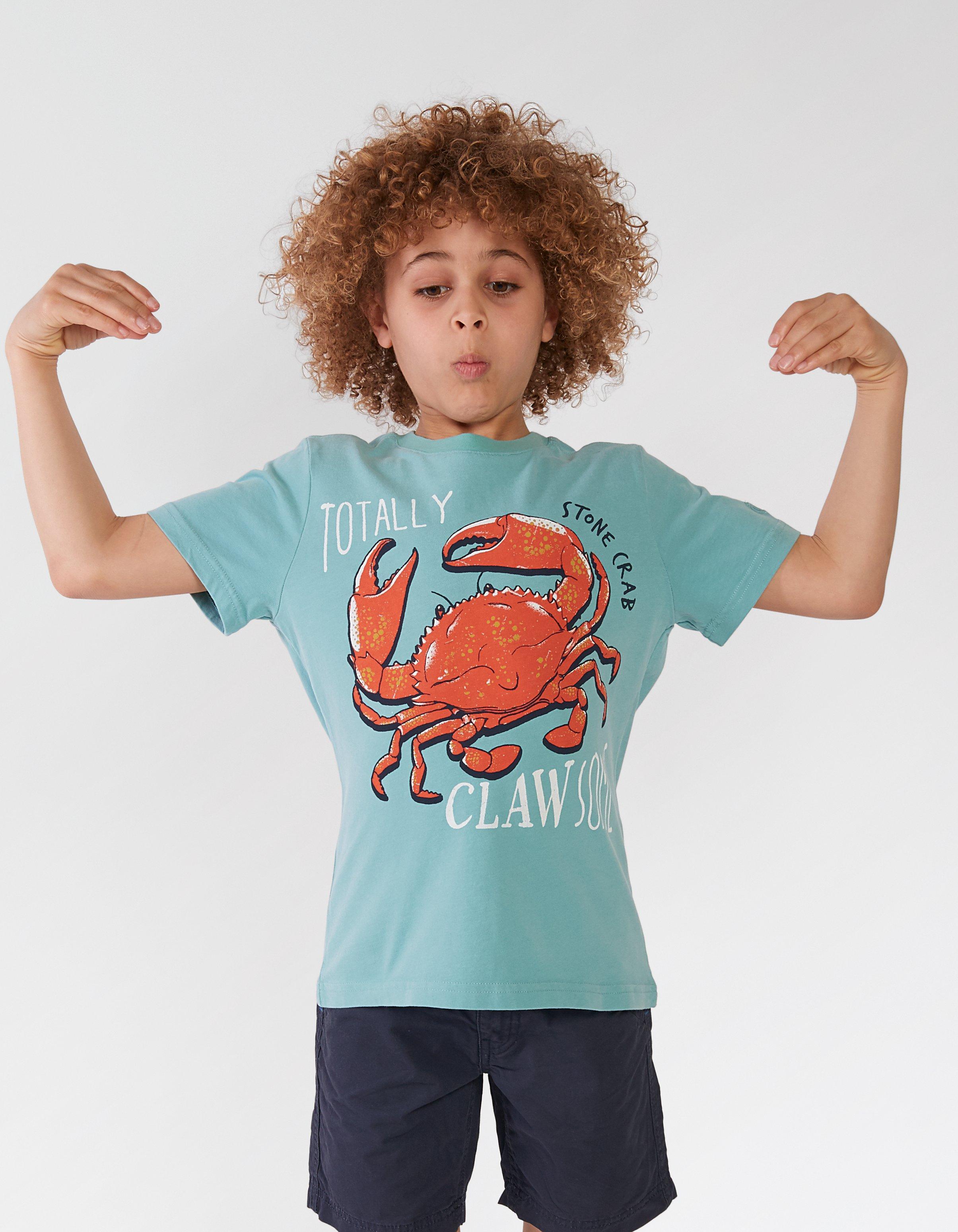 Crab Graphic T Shirt