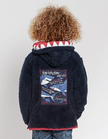 Shark Popover Fleece