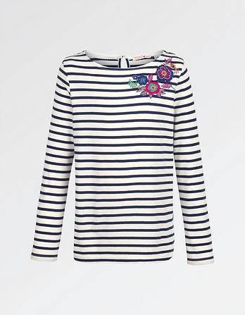 Embroidered Breton T-Shirt