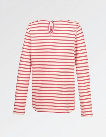 Embroidered Breton T-Shirt