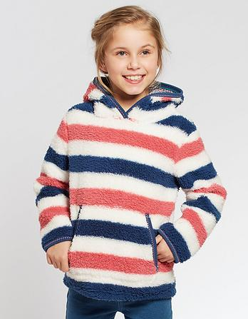 Stripe Popover Fleece