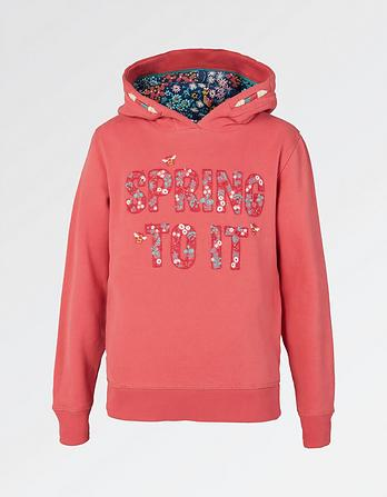 Spring To It Popover Hoody