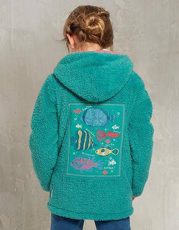 Under the Sea Zip Thru Fleece