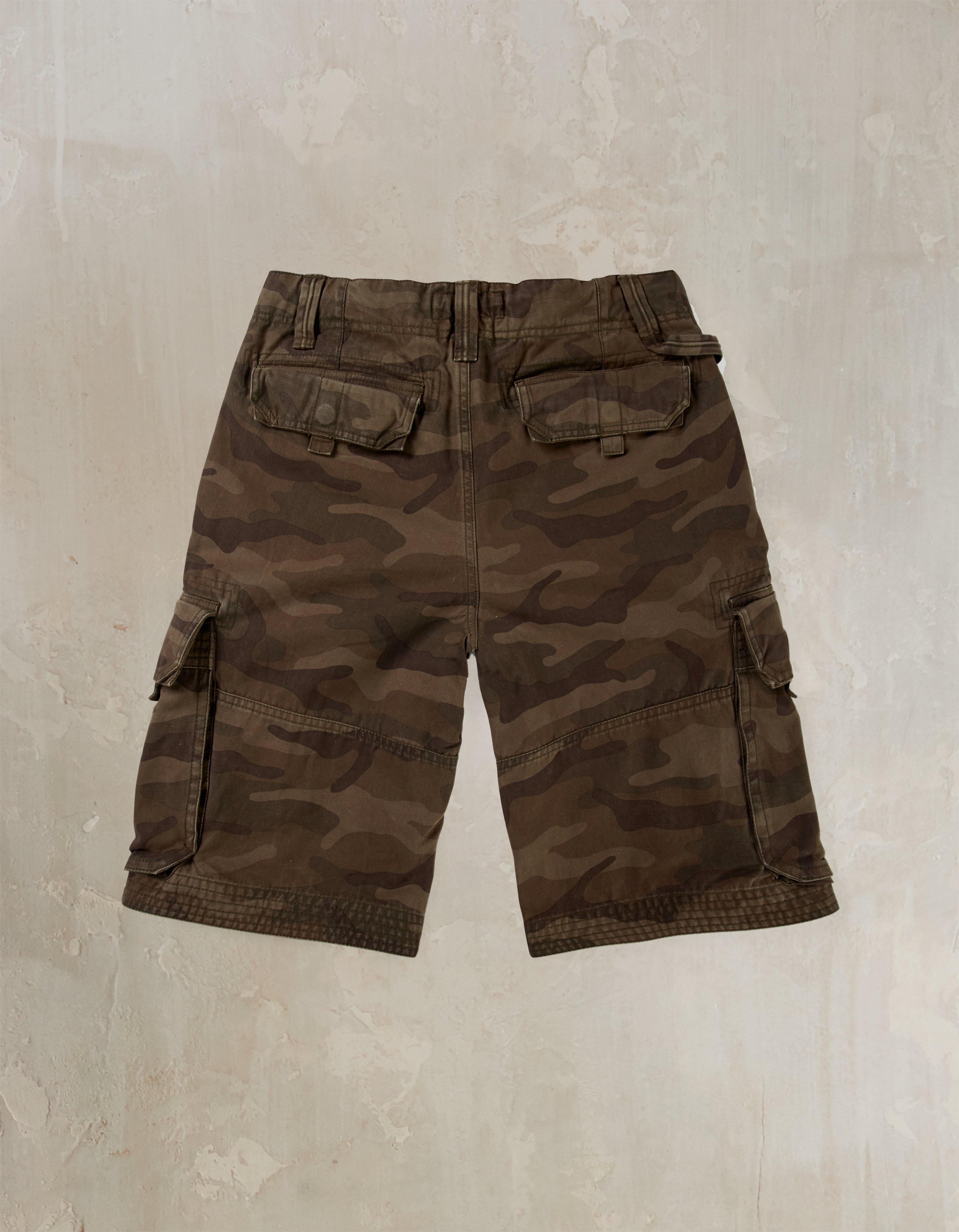 Camo Breakyard Cargo Shorts
