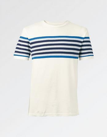 Denby Organic Cotton Stripe T-Shirt