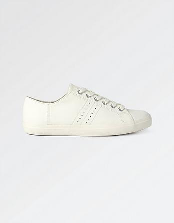 Weston Leather Lace Up Sneakers