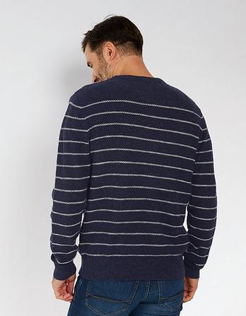 Amble Stripe Textured Sweater