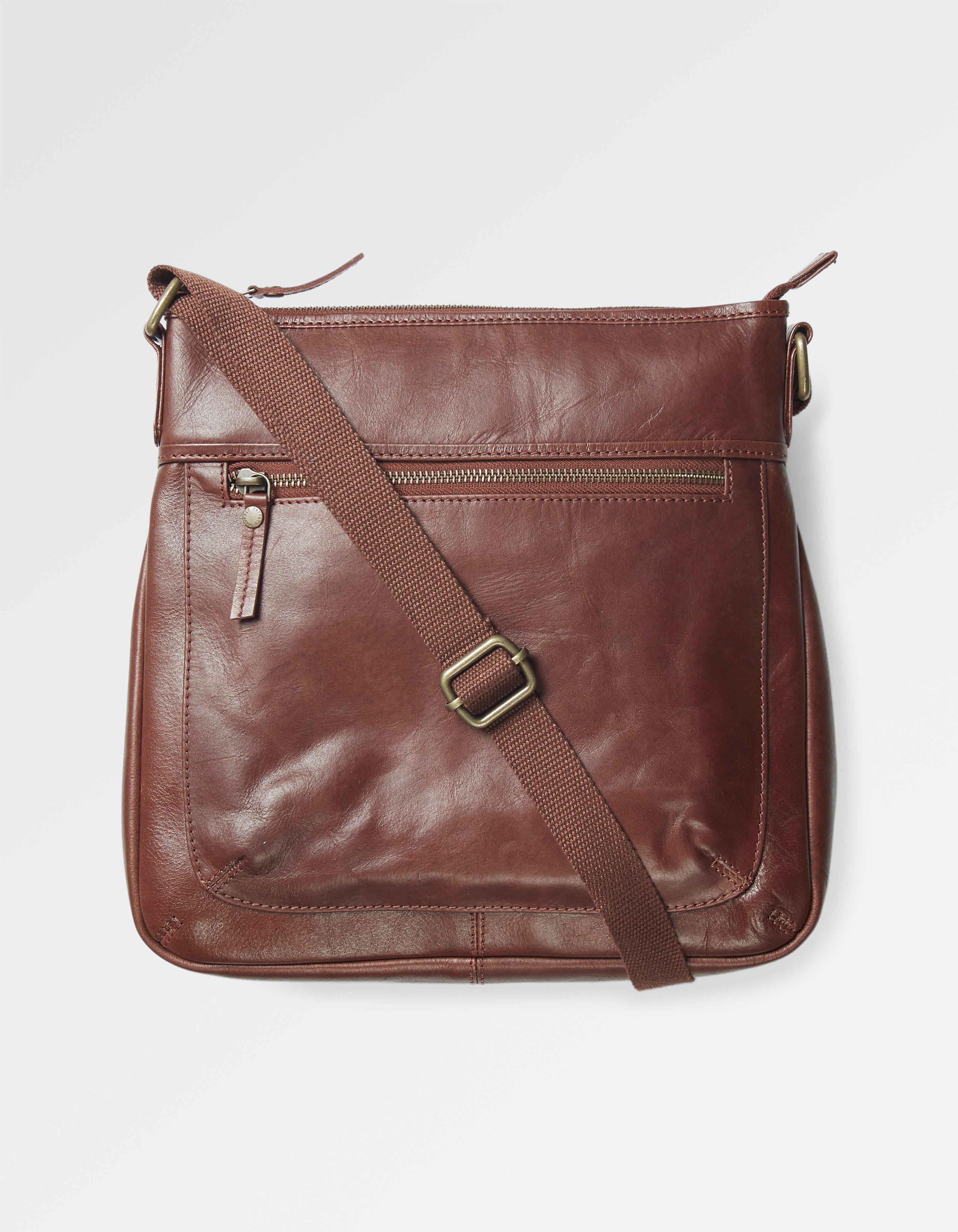 32dda486c839a Chestnut Ally Leather Cross Body Bag