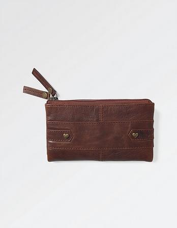 Folded Leather Purse