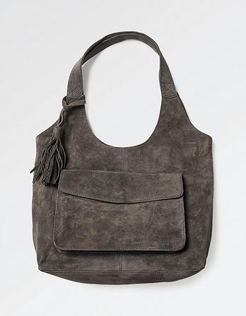 Helen Suede Hobo Bag