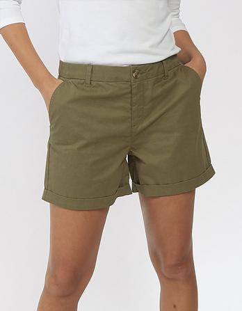 Organic Cotton Padstow Chino Shorts
