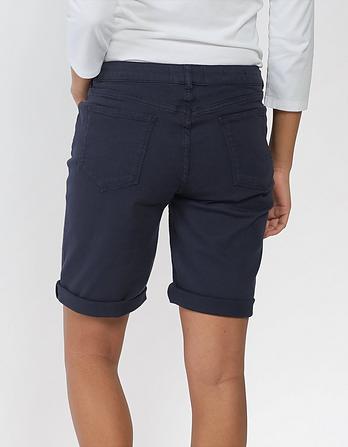 Garment Dye Bermuda Shorts