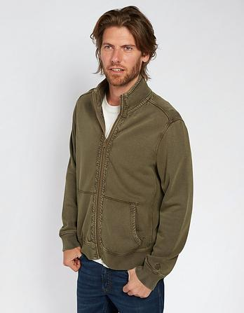 Coast Zip Thru Sweatshirt