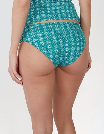 Daisy Diamond Ruched Bikini Bottoms