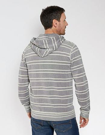 Ilfracombe Stripe Zip Thru Hoody
