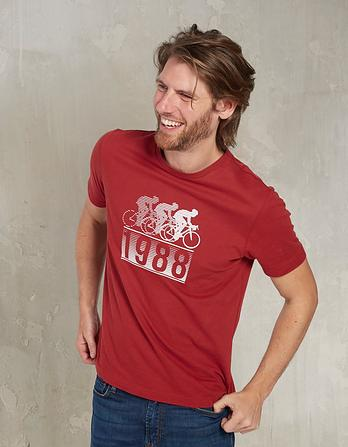 1988 Bike Organic Cotton Graphic T-Shirt