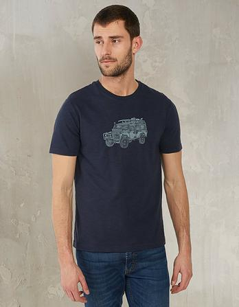 Vehicle Organic Cotton Graphic T-Shirt
