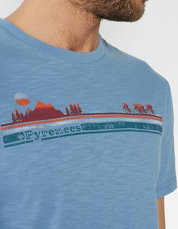 Pyrenees Organic Cotton Graphic T-Shirt