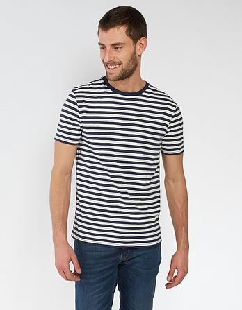Isington Organic Cotton Stripe T Shirt