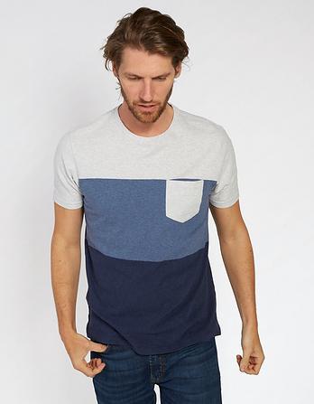 Finmere Organic Cotton Stripe T Shirt