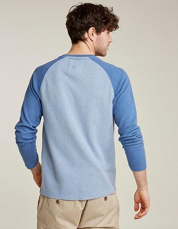 Pique Raglan Organic Cotton T-Shirt