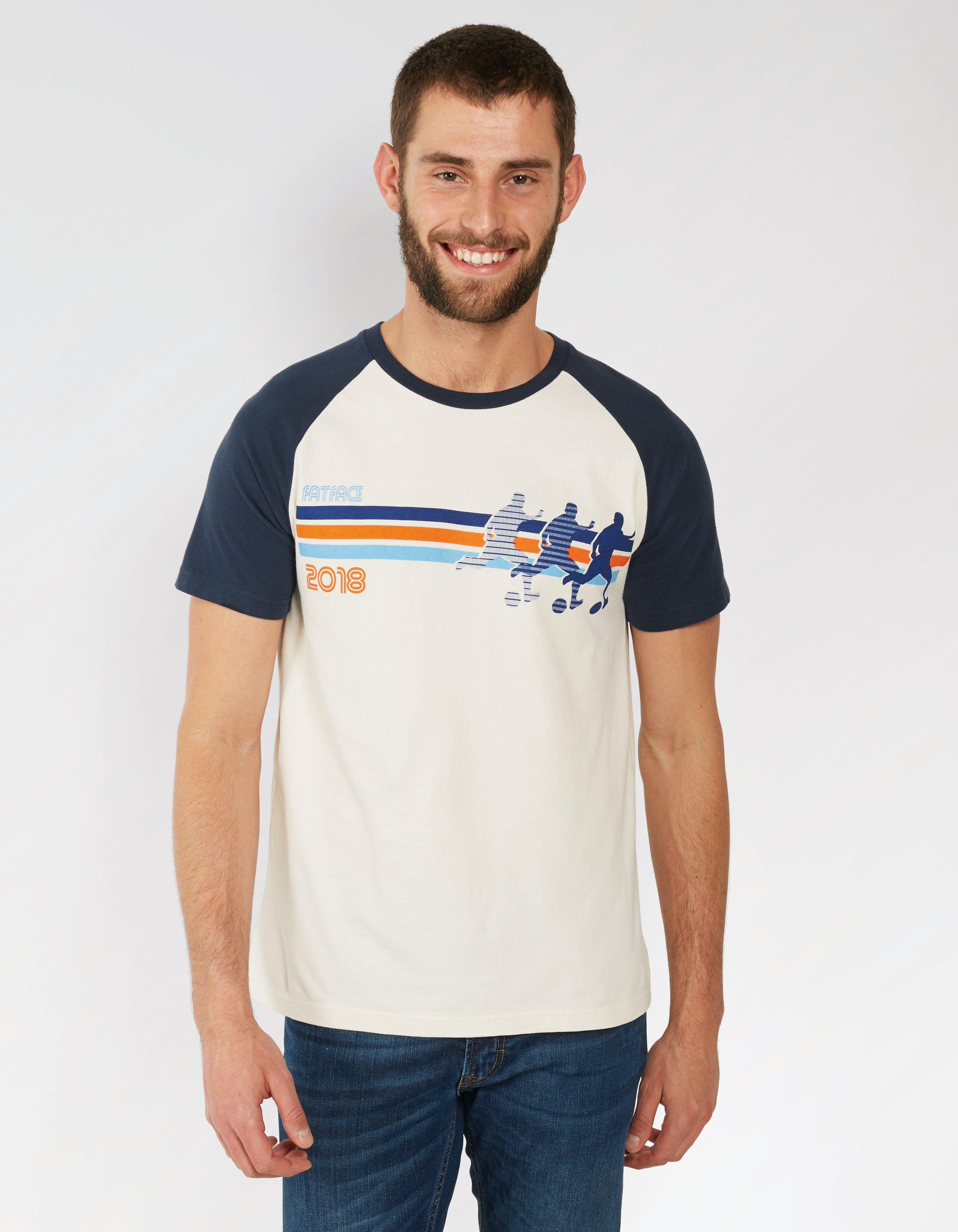 Football Organic Cotton Graphic T Shirt