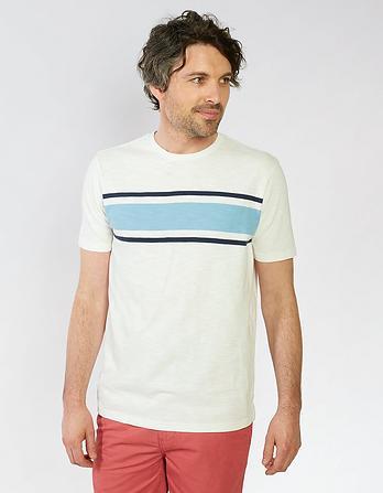 Wilton Stripe Organic Cotton T-Shirt