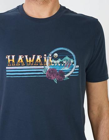 Hawaii Organic Cotton Graphic T-Shirt
