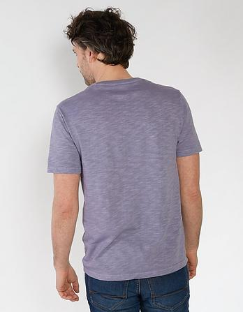 Palm Trees Organic Cotton Graphic T-Shirt
