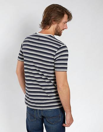 Totnes Hemp Cotton Stripe T-Shirt