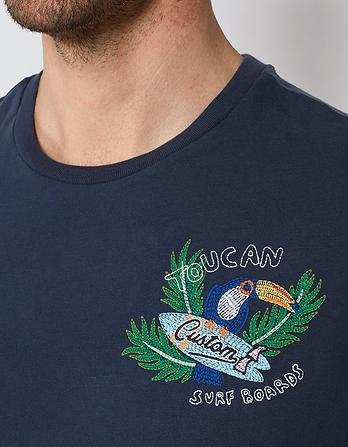 Toucan Organic Cotton Graphic T-Shirt